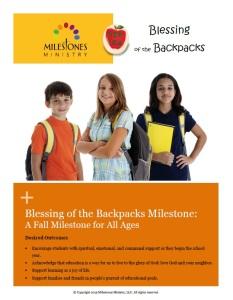 Backpacks Cover