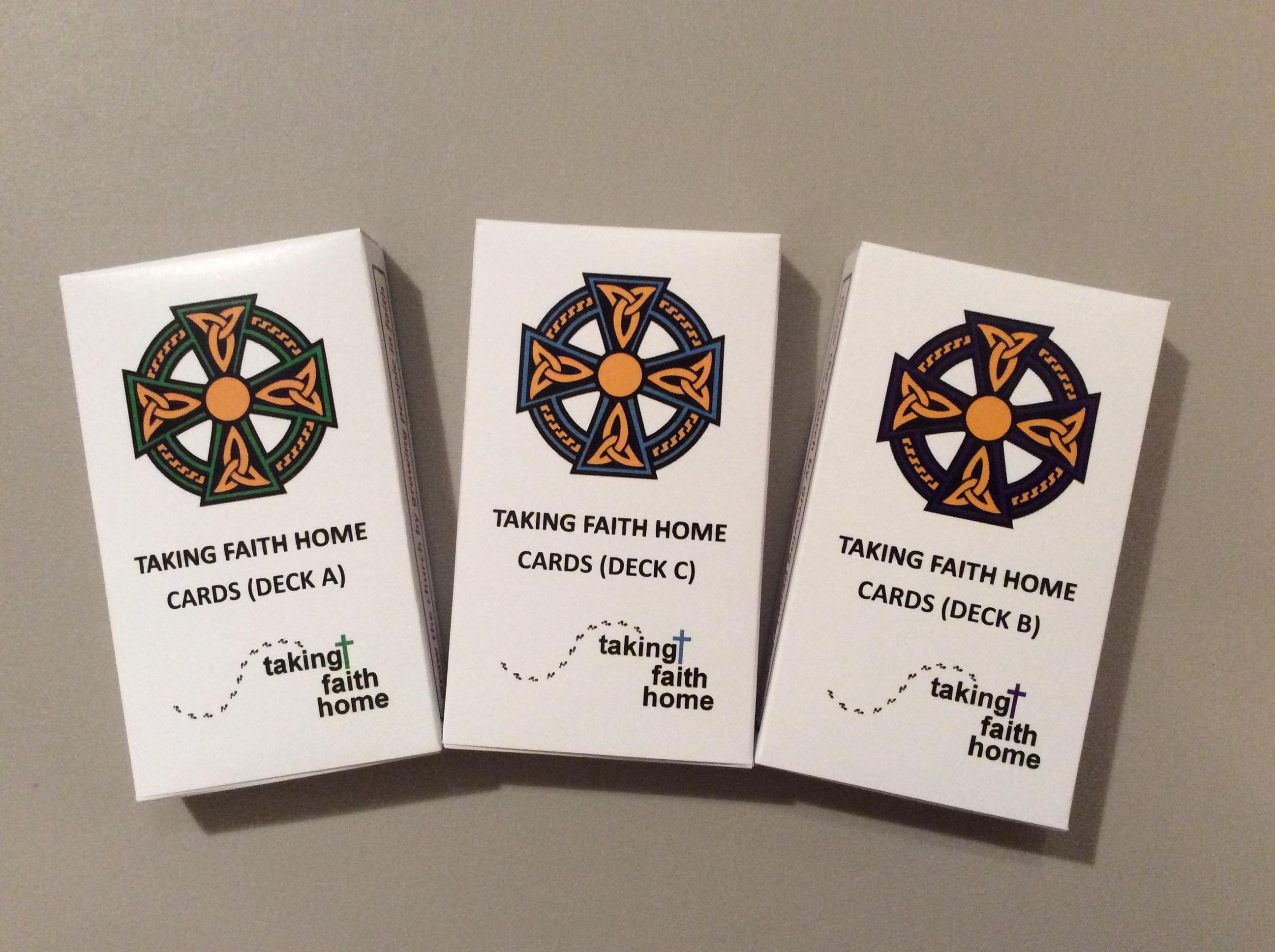 Cards A B C Decks