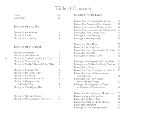 FEAS Table of Contents 1