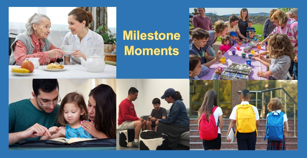 Milestone Moments Home Page